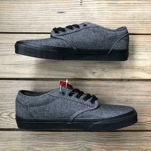 Vans Atwood Low Top Skate Shoes Winston Gray NWT